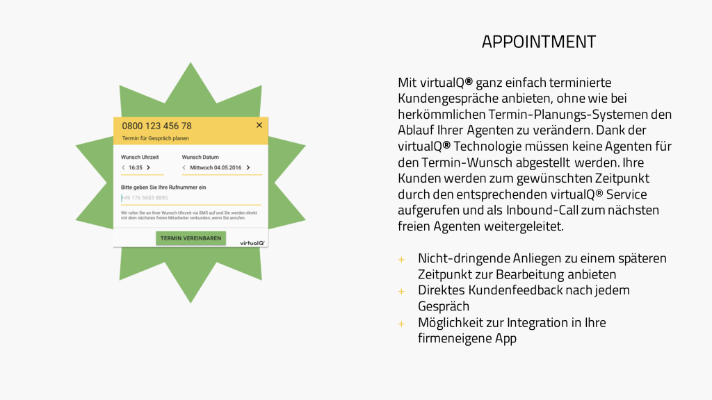 Contact Center Software Appointment