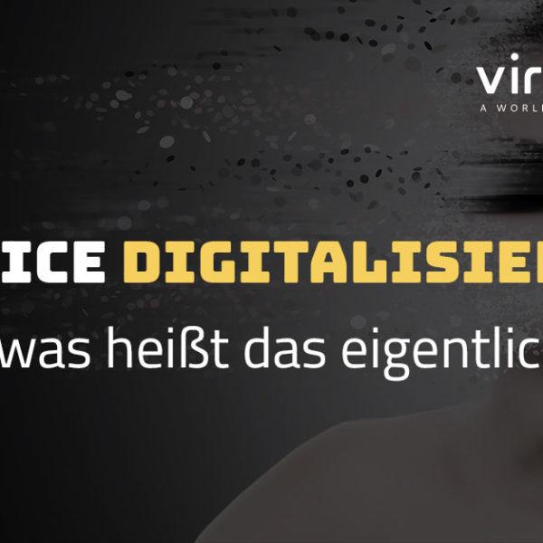Servce-Digitalisierung – was heißt das eigentlich?