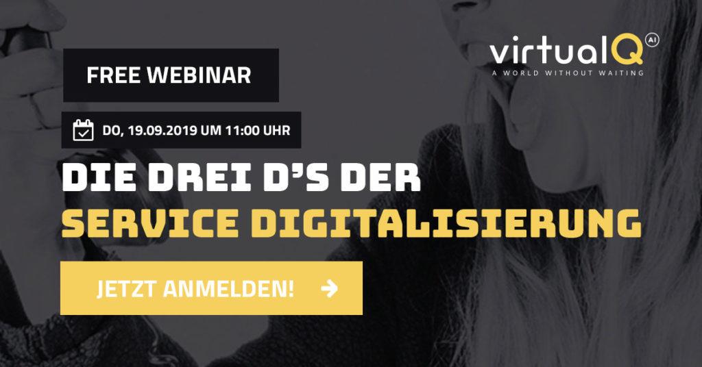 Die drei D´s der Service Digitalisierung