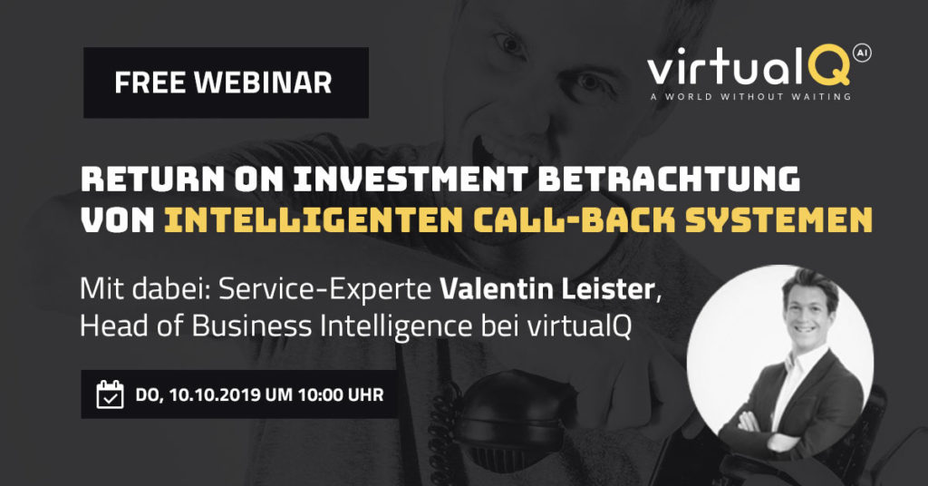 Return on Investment Betrachtung von intelligenten Call-Back Systemen
