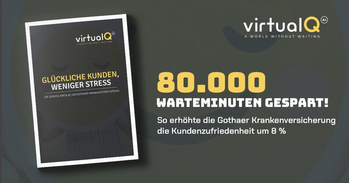 80.000 Warteminuten gespart! So erhöhte die Gothaer Krankenversicherung die Kundenzufriedenheit um 8 %