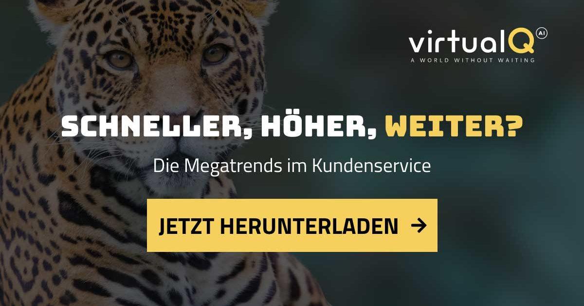 Schneller, höher, weiter? – Die Megatrends im Kundenservice Whitepaper Download
